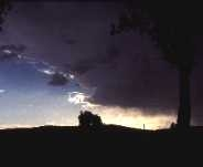 Image of the edge of a storm