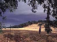 Image of the dry summer hills